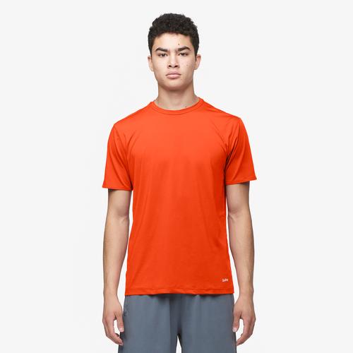 Eastbay EVAPOR Performance Training T-Shirt - Men's Training - Orange 6857703
