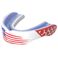 Shock Doctor Gel Max Power Mouthguard - Grade School - White / Red