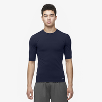 Eastbay EVAPOR Core Half Sleeve Compression Top - Men's - Navy / Navy