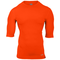 Eastbay EVAPOR Core Half Sleeve Compression Top - Men's - Orange / Orange