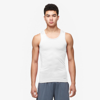 Eastbay EVAPOR Compression Tank - Men's - All White / White