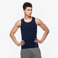 Eastbay EVAPOR Core Compression Tank - Men's - Navy / Navy