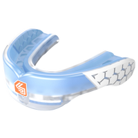 Shock Doctor Gel Max Power Mouthguard - Grade School - Light Blue / White