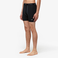 "Eastbay EVAPOR Core 6"" Compression Short 2.0 - Men's - Black / Black"
