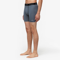 "Eastbay EVAPOR 6"" Compression Short 2.0 - Men's - Grey / Black"