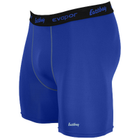 "Eastbay EVAPOR Core 6"" Compression Short 2.0 - Men's - Blue / Black"
