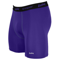 "Eastbay EVAPOR Core 6"" Compression Short 2.0 - Men's - Purple / Black"