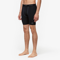 "Eastbay EVAPOR Core 8"" Compression Shorts 2.0 - Men's - Black / Black"