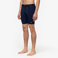 "Eastbay EVAPOR Core 8"" Compression Shorts 2.0 - Men's - Navy / Black"