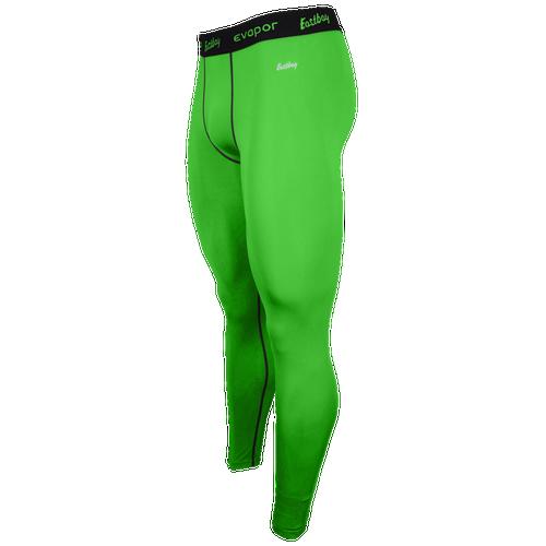 3aa46467d62e1 Eastbay EVAPOR Compression Tight 2.0 Mens Basketball Clothing Rage Green  Black hot sale 2017
