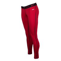 Eastbay EVAPOR Core Compression Tights - Women's - Red / Black