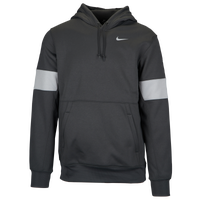 Nike Team Authentic Therma Pullover Hoodie - Men's - Grey