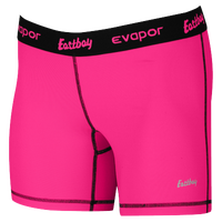 "Eastbay EVAPOR Core 5"" Compression Shorts - Women's - Pink / Black"