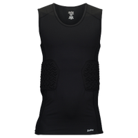 Eastbay Padded Compression Tank - Men's - All Black / Black