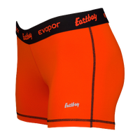 "Eastbay Evapor 3"" Compression Shorts - Women's - Orange / Black"
