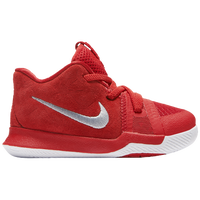 Nike Kyrie 3 - Boys' Toddler -  Kyrie Irving - Red / Red