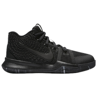 Nike Kyrie 3 - Boys' Preschool -  Kyrie Irving - All Black / Black