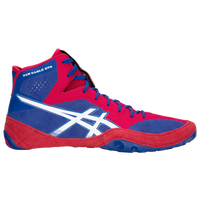 ASICS® Dan Gable Evo - Men's - Blue / Red