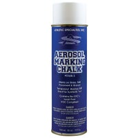 Athletic Specialties Aerosol Spray Marking Chalk - Blue / White