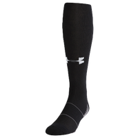 Under Armour Team Over The Calf Socks   Black / White