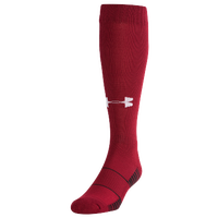 Under Armour Team Over The Calf Socks - Red / Black