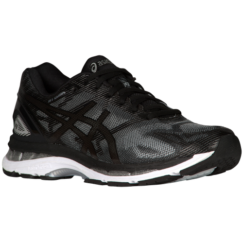 Men Black Asics Gel Shoe Extra Wide   Size