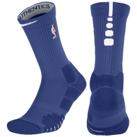 Nike NBA Elite Quick Crew Socks - NBA League Gear - Blue / White