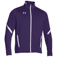 Under Armour Team Qualifier Warm-Up Jacket - Men's - Purple / White