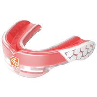 Shock Doctor Gel Max Power Flavored Mouthguard - Grade School - Red / White