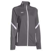 Under Armour Team Qualifier Warm-Up Jacket - Women's - Grey / White