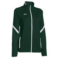 Under Armour Team Qualifier Warm-Up Jacket - Women's - Dark Green / White