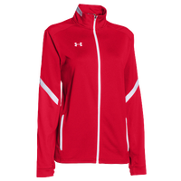 Under Armour Team Qualifier Warm-Up Jacket - Women's - Red / White