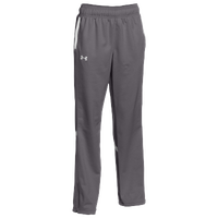 Under Armour Team Qualifier Warm-Up Pants - Women's - Grey / White