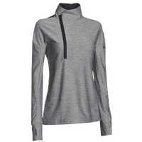 Under Armour Team Hotshot 1/2 Zip - Women's - Grey / Black