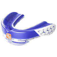 Shock Doctor Gel Max Power Flavored Mouthguard - Grade School - Blue / White