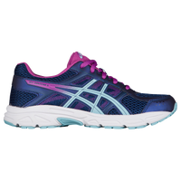 ASICS® GEL-Contend 4 - Girls' Grade School - Navy / Light Blue