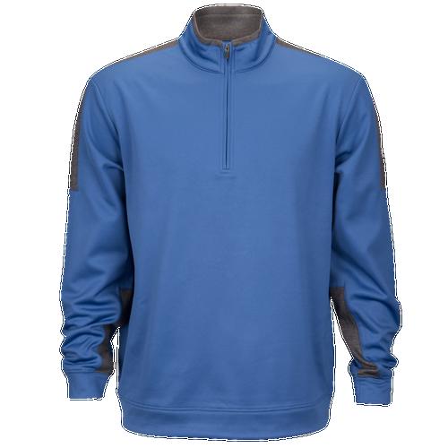 PGA Tour Tech Fleece 1/4 Zip - Men's Golf - Bright Cobalt