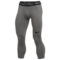 Nike Pro 3/4 Tights - Men's - Grey