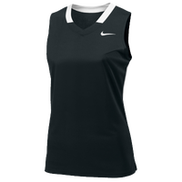 Nike Team Face-Off Sleeveless Game Jersey - Women's - Black / White