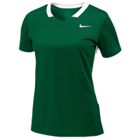Nike Team Face-Off Game Jersey - Women's - Dark Green / White