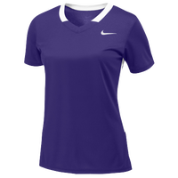 Nike Team Face-Off Game Jersey - Women's - Purple / White
