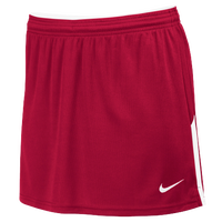 Nike Team Face-Off Kilt - Women's - Red / White