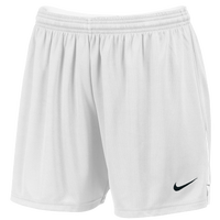 Nike Team Face-Off Game Shorts - Women's - All White / White