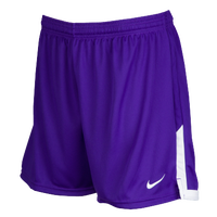 Nike Team Face-Off Game Shorts - Women's - Purple / White