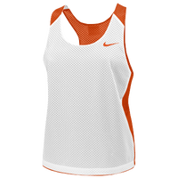 Nike Team Reversible Mesh Tank - Women's - White / Orange
