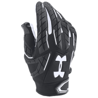 Under Armour Fierce VI Padded Football Gloves - Men's - Black / White