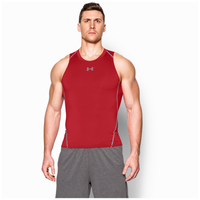 Under Armour HeatGear Armour Compression Tank - Men's - Red / Red