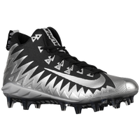 Nike Alpha Menace Pro Mid - Men's - Silver / Black