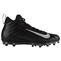Nike Alpha Menace Pro Mid - Men's - Black / Silver