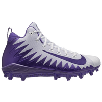 Nike Alpha Menace Pro Mid - Men's - White / Purple